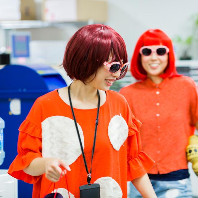 MAKOTO TOCHIKUBOの撮影した草間彌生のハロウィン仮装写真
