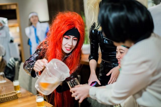 MAKOTO TOCHIKUBOの撮影したX JAPAN hideのハロウィン仮装写真