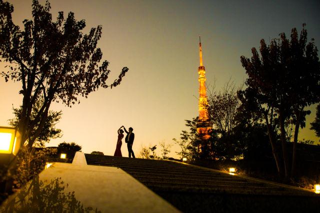 東京で撮ったロケーションフォト