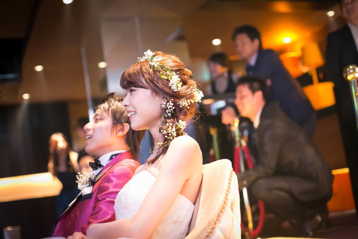結婚式二次会の写真