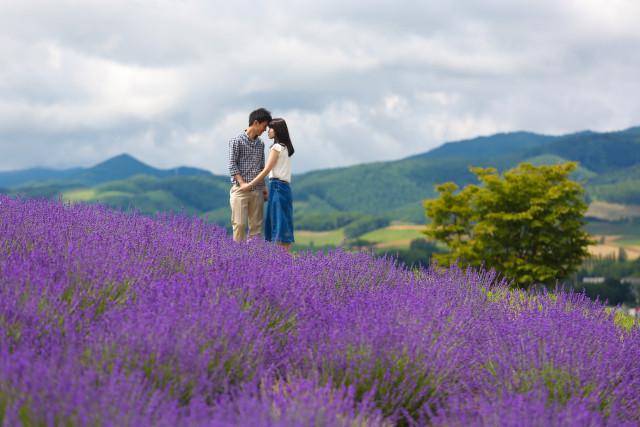Furano lavender in Hokkaido — Photo by Studio-J