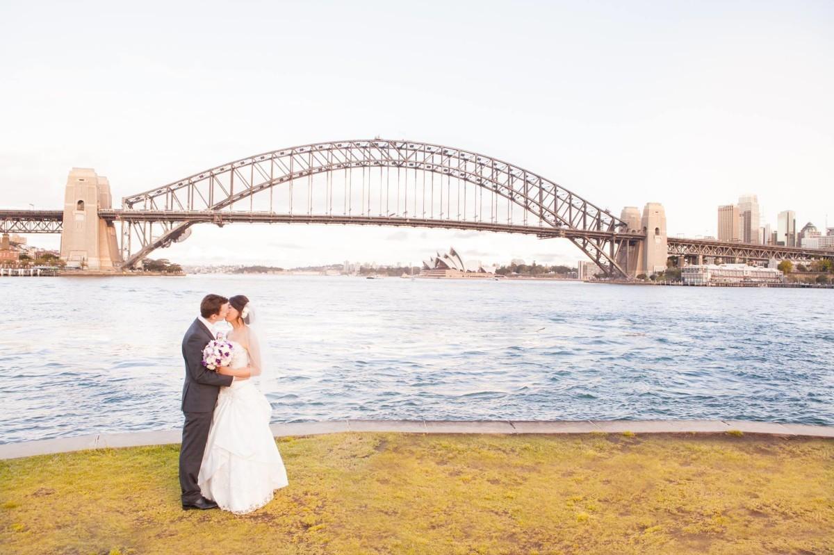 Sydney Creative Photographyが撮影した海外ハネムーン(新婚旅行)でのウェディングフォト