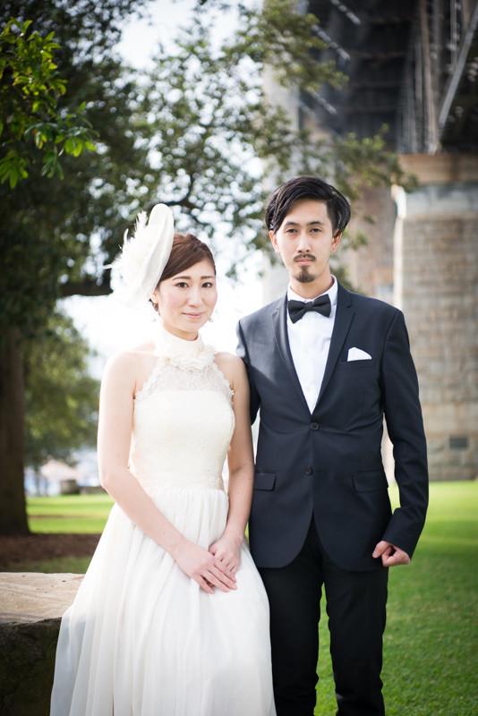 Lapin Design Photography, Syndeyが撮影した海外ハネムーン(新婚旅行)でのウェディングフォト