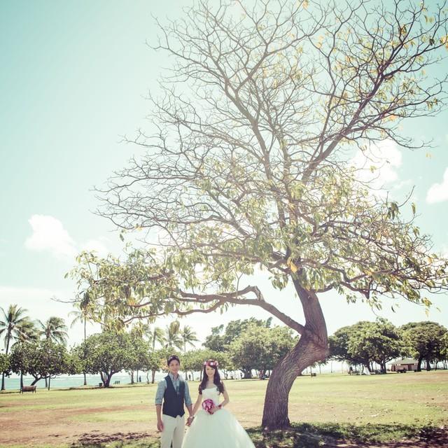 Jayson Tanega Photographyが撮影した海外ハネムーン後撮りウェディングフォト