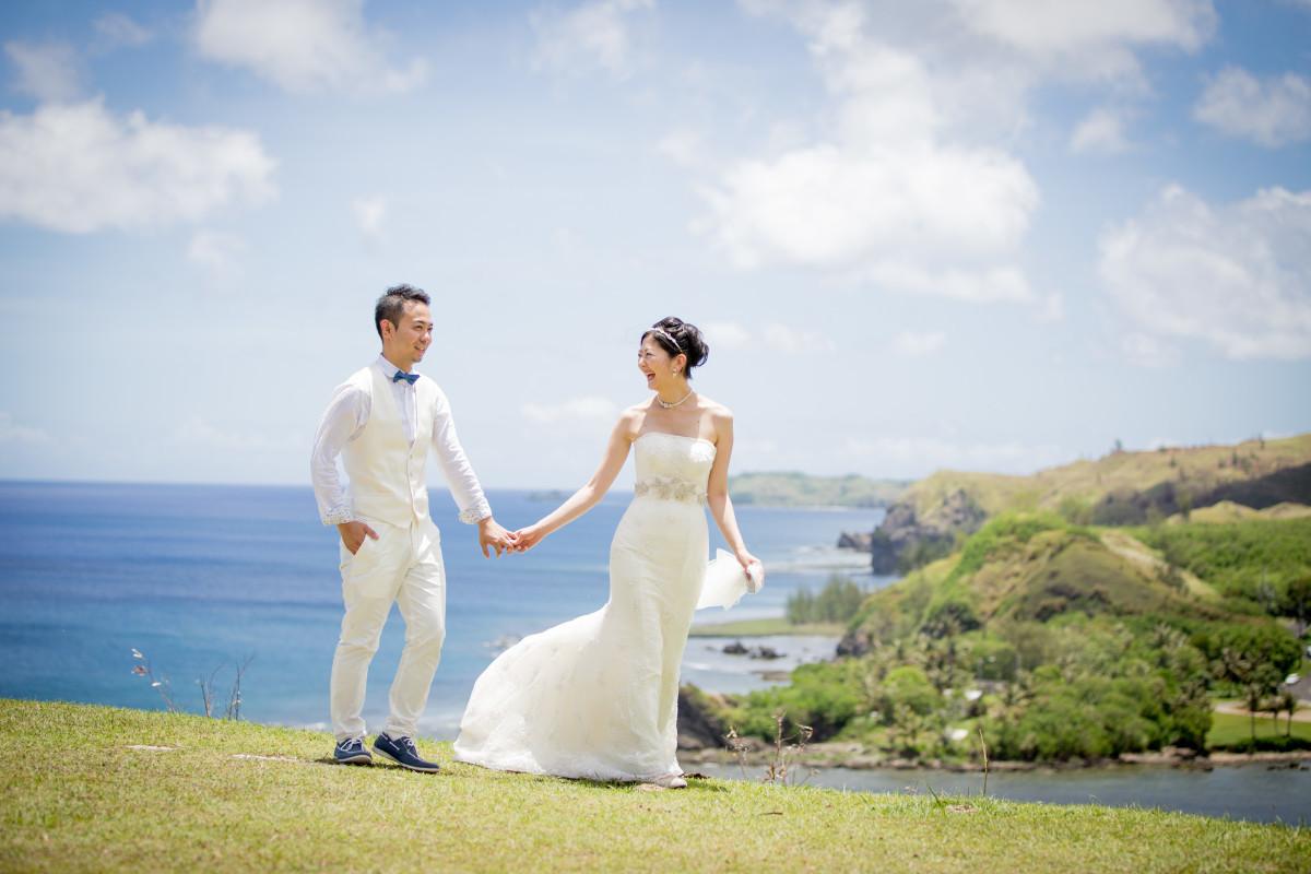 APITS art photography (折山 正樹)がグアムで撮影した新婚旅行でのウェディングフォト
