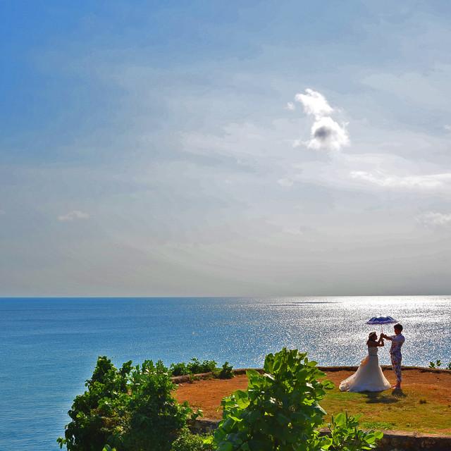 マニス ウェディング, Baliが撮影した海外ハネムーンでのフォトウェディング写真