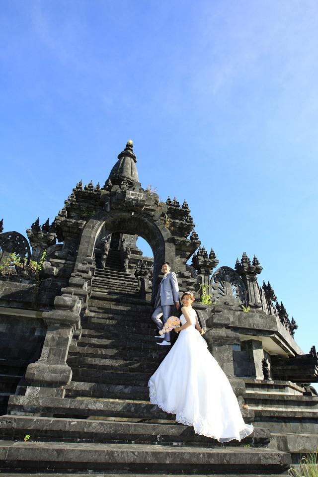 Yoshihisa Shinji Photography(進士 嘉久), Baliが撮影した海外ハネムーンでのフォトウェディング写真