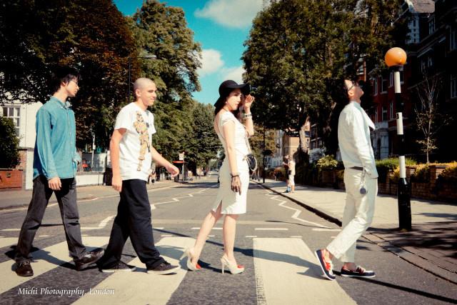 Michi Photography, Londonが撮影した海外ハネムーンでのフォトウェディング写真