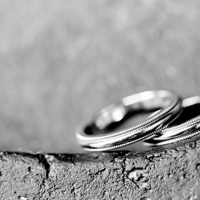 HaPicが撮影した結婚式当日の結婚指輪フォト