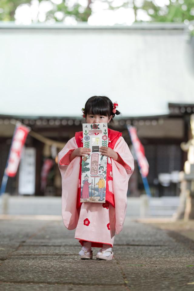 midica photographyの撮ったおしゃれな七五三家族写真(エミリィの出張撮影・横浜)