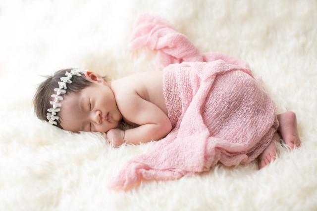 Yuki shimadaが出張撮影したニューボーンフォト(新生児写真)