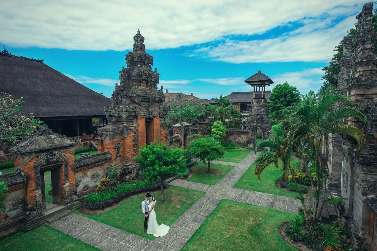 Dstudio Photography Baliが撮影した海外ハネムーン(新婚旅行)でのウェディングフォト