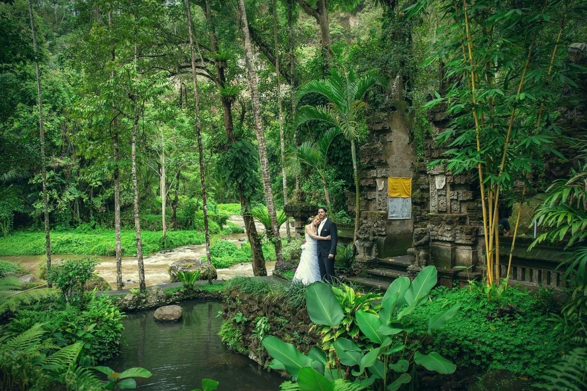 Dstudio Photography Baliが撮影した海外ハネムーンでのフォトウェディング写真