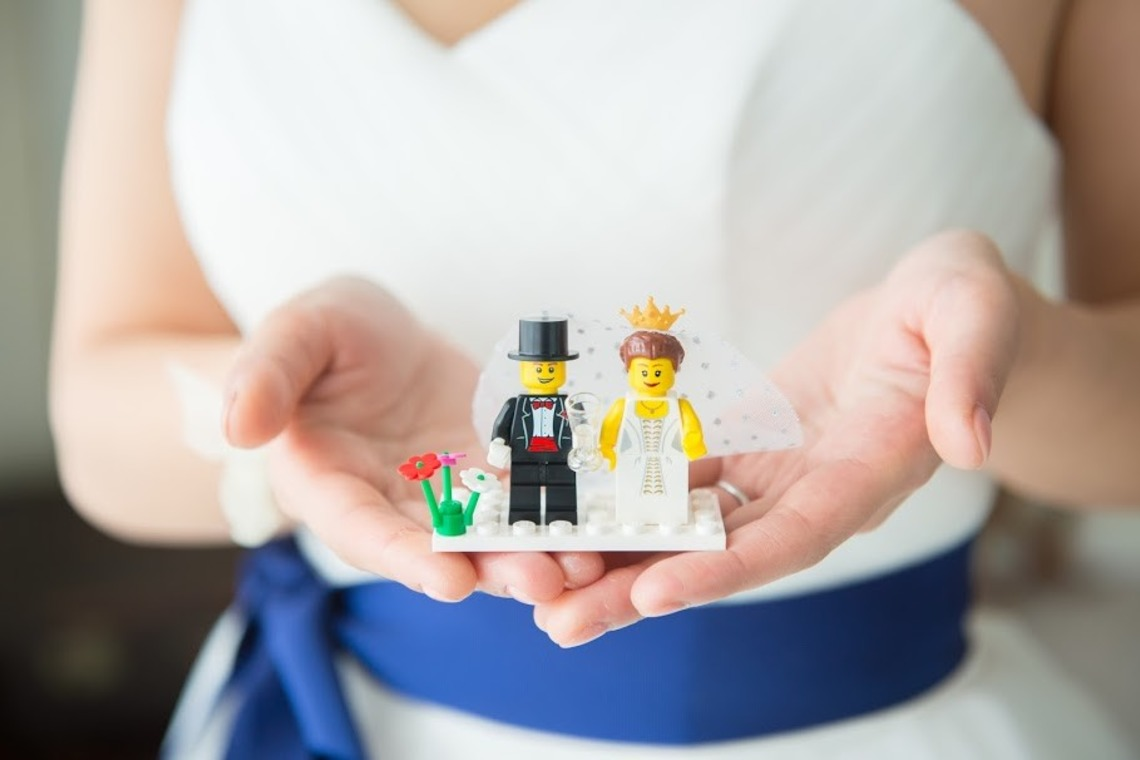 cute lego couple — Photo by Gentoku Katakura 片倉写真事務所