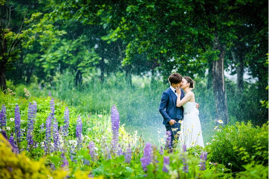 Furano Lavender fields Hokkaido — Photo by lykke photo style
