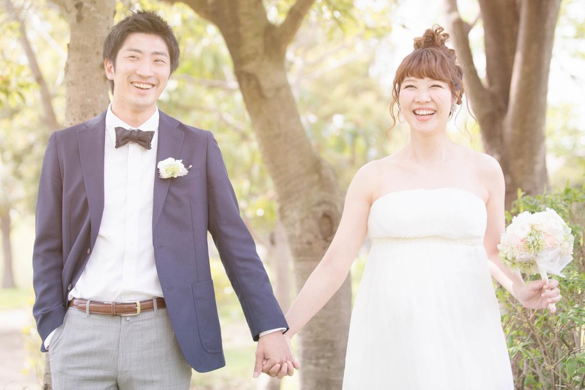 Smiling couple — Takano Kazuki