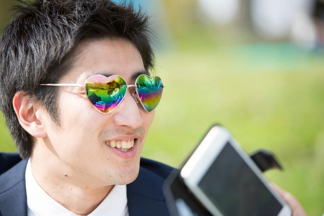 adorable sunglasses  — Photo by Takano Kazuki
