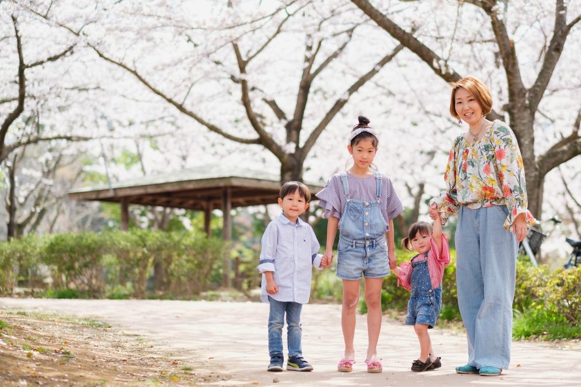 【桜に囲まれて】家族の出張撮影レポート