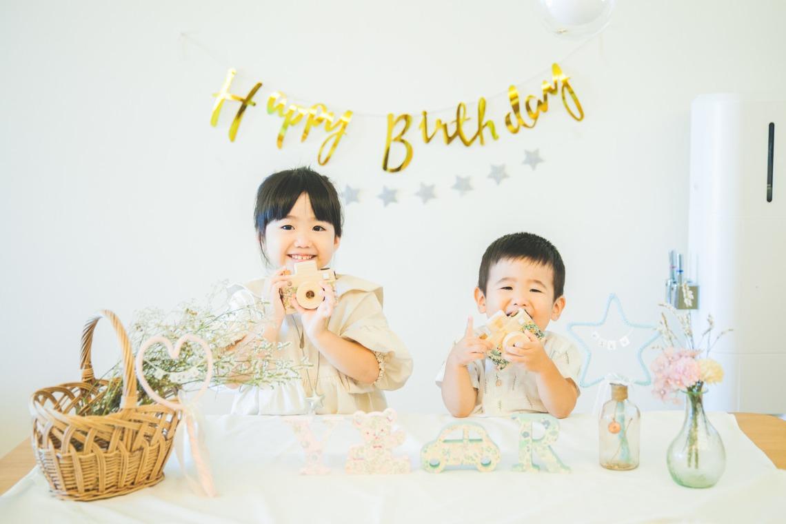 無添加写真堂の撮ったお誕生日の記念写真(エミリィ)