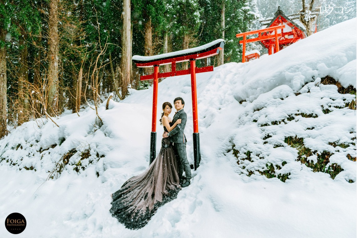 Pre Wedding Photography Package In The Snow