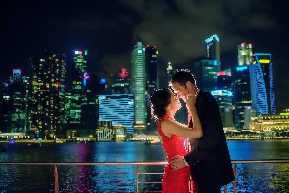海外 シンガポール フォトウェディング
