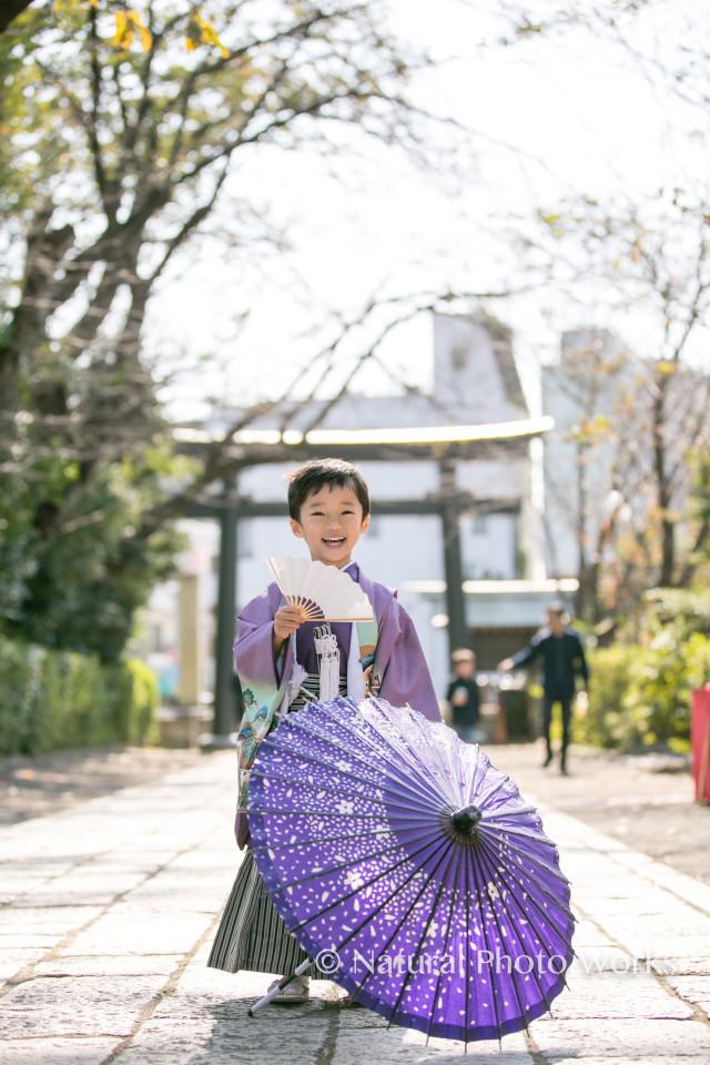 エミリィの七五三出張撮影 by Keiko Yuzawa