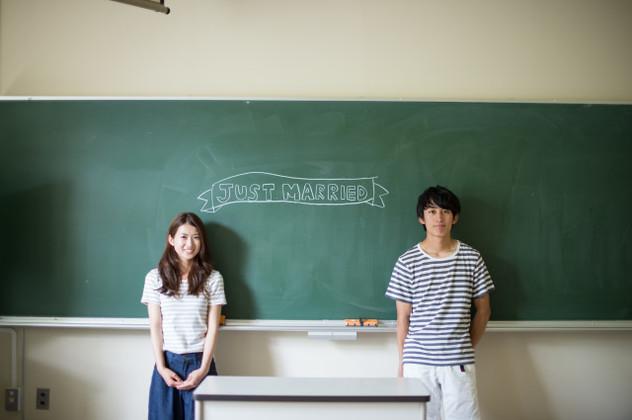 school sweet hearts photo shoot — Photo by Katakura Photo Office