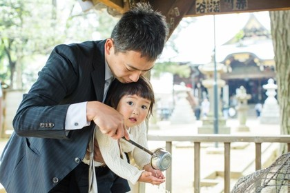 MAKOTO TOCHIKUBOの撮影したお宮参り出張撮影の写真
