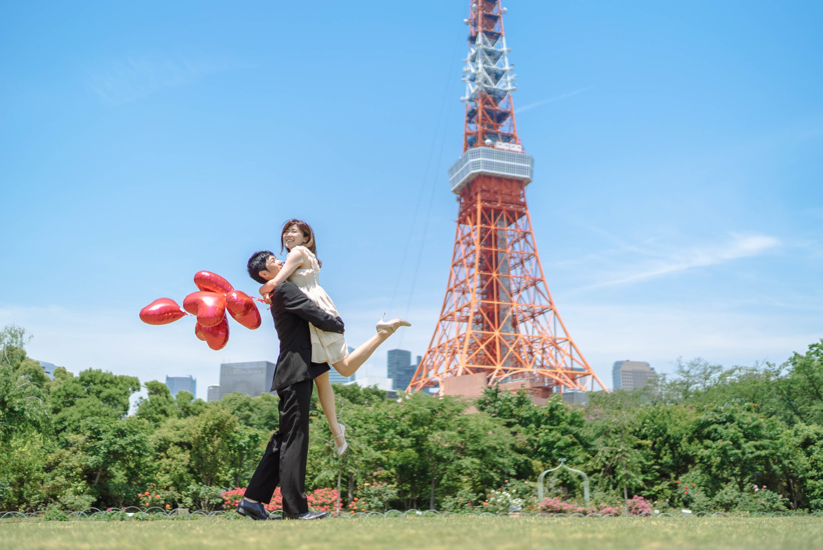 Pre Wedding Photo in Tokyo taken by Natsumetic Photography