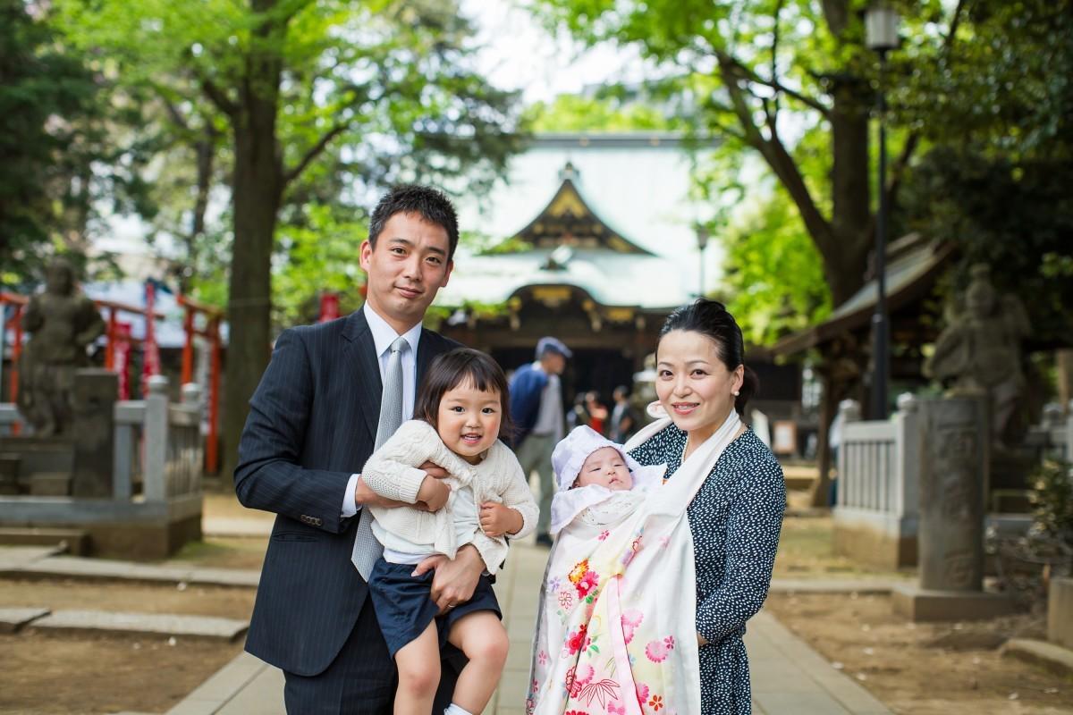 MAKOTO TOCHIKUBOの出張撮影したお宮参り写真