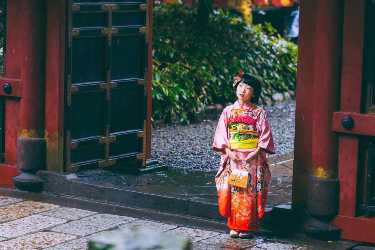 エミリィの出張撮影@根津神社 by SHO KOBAYASHI